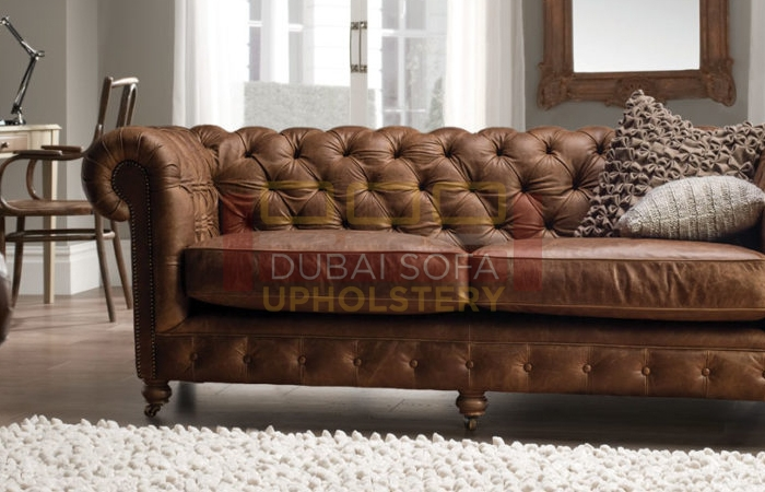 Leather Sofa Upholstery Dubai